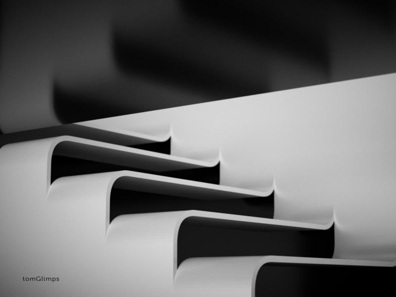 Sculptural Stairs (wip oo1)